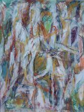 Composition abstraite David Lan Bar 1912-1987 PologneJérusalem Paris