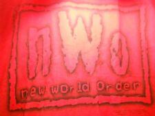Vintage nWo Wolfpack T Shirt size Large L Red WCW WWE WWF Tshirt 1998 Wrestling