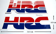 New Honda HRC Factory  Stickers Decals Motocross  Bike and  Car Racing Blue/Red