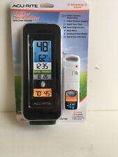 Acurite  Digital Indoor/Outdoor Weather Thermometer 00554 Wireless Sensor