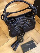 MONTBLANC *Starisma* Leder Damen Handtasche Tasche Bag small brown NP:890€ -1686