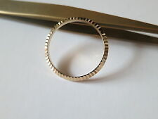 30.4mm @ Gold Plated Watch Bezel Compatible With Rolex Tudor