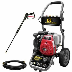 BE275HAS 2700 PSI (Gas - Cold Water)  Pressure Washer w/ Honda GC160 Engine