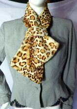 Vintage 1950s REAL FUR SCARF Hollywood Fashion Glamour