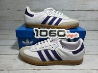 Adidas Originals Samba OG Purple / White  Sneakers  US Men's Size 10