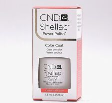 CND Shellac Gel Nail Polish Color Coat Cream Puff 40501 7.3ml /0.25oz NEW UV LED