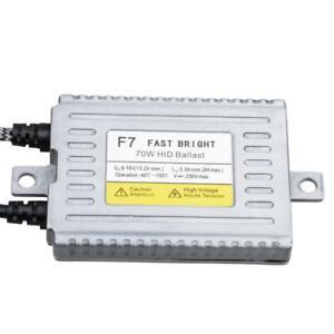 F7 - 70w HID Ballast Slim AC Digital Replacement  12v