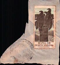 ERINNOFILI CHIUDILETTERA ROMA 1911 ESPOSIZIONE INTERNAZIONALE   21-200