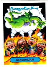 "2017 Garbage Pail Kids Battle of The Bands ""DRAGON DAN"" Sticker Card"