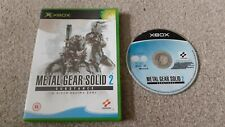 Xbox Game metal gear solid 2 substance