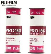 2 x Fujifilm FUJICOLOR Fuji PRO 160 160NS Daylight Color Negative 120 Film