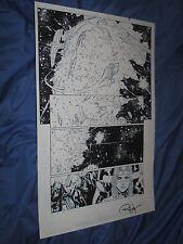 GREEN LANTERN #32 Original Art Page #7 ~Billy Tan/Rob Hunter JLA/MOVIE Justice Comic Art