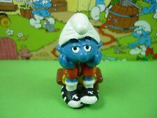 20526 Football Smurf Bench Warmer Smurfs Schlümpfe 03 Peyo Made in Germany CE
