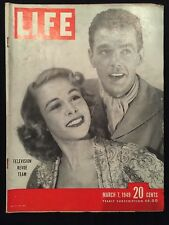 Vintage Life Magazines- March 7, 1949 and July 18, 1949