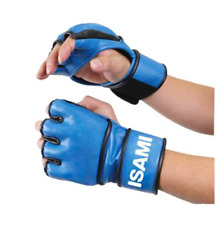 Made in JAPAN ISAMI MMA Washable Open finger gloves free shipping from JAPAN