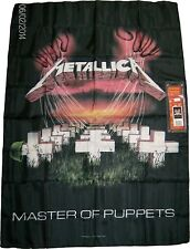 METALLICA MASTER OF PUPPETS POSTER TEXTILE FLAG NEW IN BOX