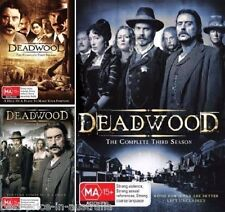 DEADWOOD: COMPLETE Seasons 1-3 1+2+3 DVD TV SERIES BRAND NEW R4