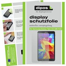 2x dipos Samsung Galaxy Tab 4 8.0 o.T. T330 matte Displayschutzfolie Antireflex