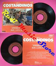 LP 45 7'' ALEC R. COSTANDINOS Americana Baby i love you 1981 france no cd mc dvd