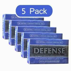 Defense Bar Soap Brand New 5 Pack Sealed in the Package