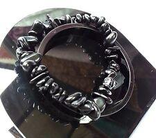 Bracelet en Onyx Lithothérapie Bijoux Minéral en Pierre Naturelle pour Femme