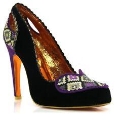 Womens Poetic License Siren Purple/Black Court Shoe Heels