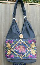 Indian Handicrafts Hippie Elephant Jhola Hand Bags Shoulder Style Travel College