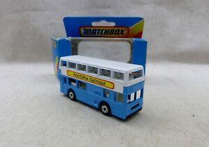 Matchbox Lesney Superfast 17 London Bus Montepna Matchbox n°1  Neuf Boite