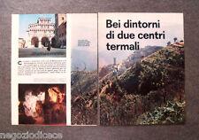 AY66 - Clipping-Ritaglio -1963- ITINERARI QUATTRORUOTE,MONTACATINI SALSOMAGGIORE