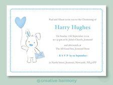 20 Personalised Christening Invitations Naming Day invites boy girl unisex