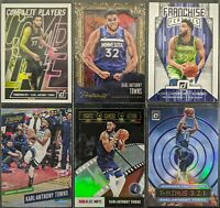 Lot of (6) Karl-Anthony Towns, Including Portraits /199, Optic/Prestige parallel