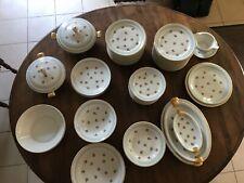 Service vaisselle complet ancien Porcelaine LIMOGES