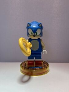 LEGO Dimensions Sonic The Hedgehog From Set 71244 - Figure And Tag Only - Used