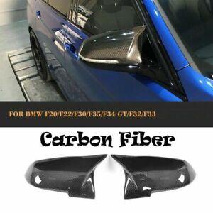 Mirror Cover M3 Style Caps Carbon Fiber For BMW F20 F21 F23 F30 F36 F32 F87 E84