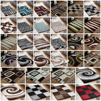 LARGE THICK MODERN SHAGGY NON SHED SOFT SALE COSY NEW QUALITY AREA LOW COST RUGS