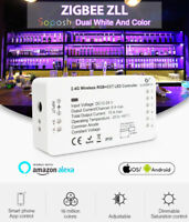 HOT!!! NEW GLEDOPTO RGB+CCT Zigbee LED Strip Controller Compatible Smart Home==
