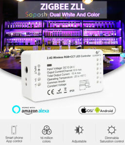 2020 NEW GLEDOPTO RGB+CCT Zigbee LED Strip Controller Compatible Smart Home TOP#