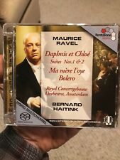 (CD) Ravel: Daphnis Et Chloé Suites No 1 & 2, Bolero + SACD  / HAITINK