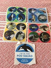 SeaWorld  Stickers Lot Of 5 - New