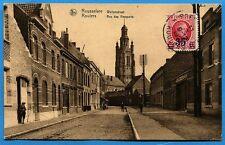 CPA: Rousselare / Roulers - Rue des Remparts / 1927
