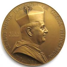 Einseitige-Medaille 1932, Ubaldus Steiner Herzogenburg, Sign. Hartig