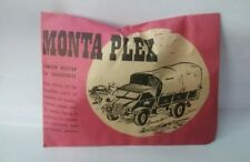 Montaplex camion militar de transporte