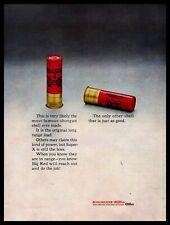 "1961 Winchester Western 4 Super-X ""Big Red"" Shotgun Shells Vintage Ammo Print Ad"