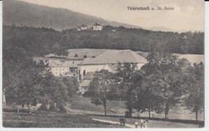 Ansichtskarte Frankreich Elsaß Thierenbach und st. Anna
