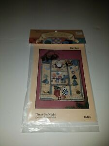 'TWAS THE NIGHT quilting pattern packet #6261 by Cute as a Button Uncut pattern