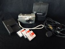 Sony Cyber-Shot 8.1 Megapixels Digital Camera with accessories