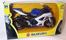 Suzuki GSXR 1000  2008  Blue & White 1-12 mib