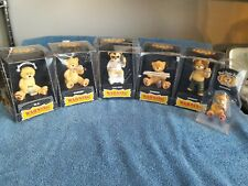 Bad Taste Bears Lot of 5 plus Keychain, Elvis, Marley, etc NEW