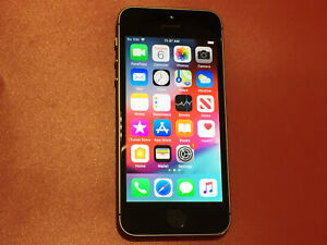 Apple iPhone 5S - Unlocked - 16GB - Space Gray A1533 (GSM) with Case/Box/Charger