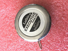 F4 Vintage 6' Lufkin W606PD Executive Thinline  Steel Tape Yellow 1/4 x 6  exc!